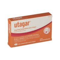 Utagar 1 Mg/2Mg, 20 Comprimidos Para Chupar