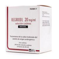Regaxidil 20Mg/Ml Solución Cutánea, 240Ml (4 Frascos De 60Ml)