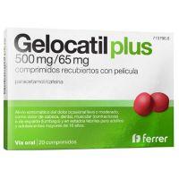 Gelocatil Plus 500Mg / 65Mg Recubiertos Con Película - (20Comp)