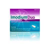 Imodium Duo 2/125 Mg 12 Comprimidos