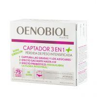 OENOBIOL Captador 3 en 1 60 cápsulas con Nuevo Efecto Prebiótico