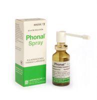 Phonal Spray Aerosol Topico Solucion 20 Ml