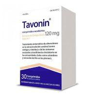 Tavonin 120 Mg 30 Comprimidos Recubiertos