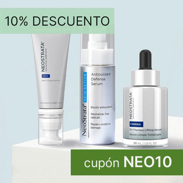 Promoción 10% descuento Neostrata